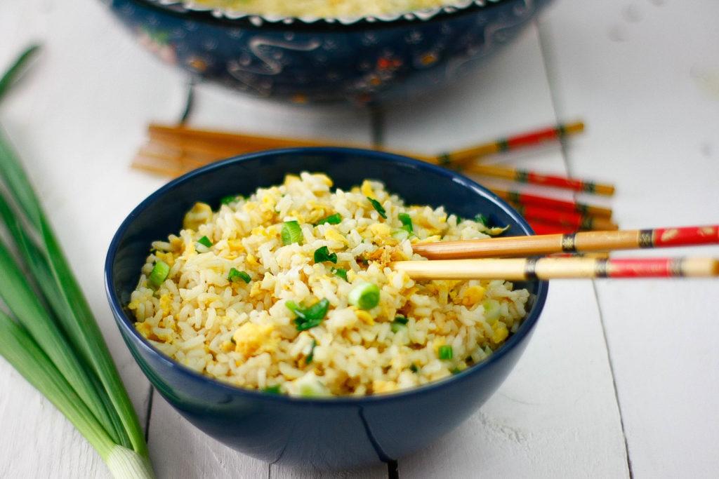 Smażony ryż z jajkiem po chińsku przepis